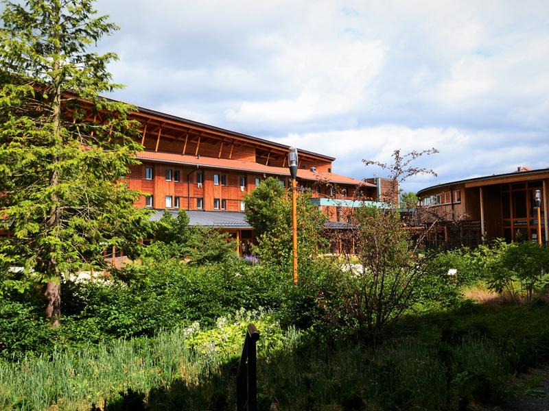 vue sur le centre de colonies de vacances et stages sportifs d'été