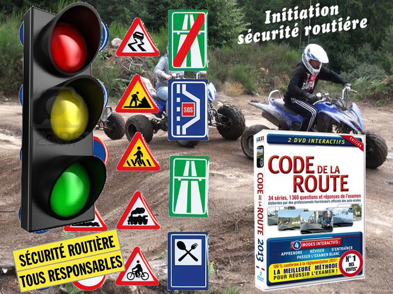 initiation à la sécurité routière en quad et moto