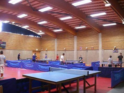 Stage sportif tennis de table été Auvergne