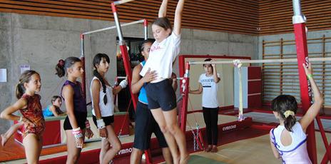 Stage Gymnastique Artistique en Auvergne