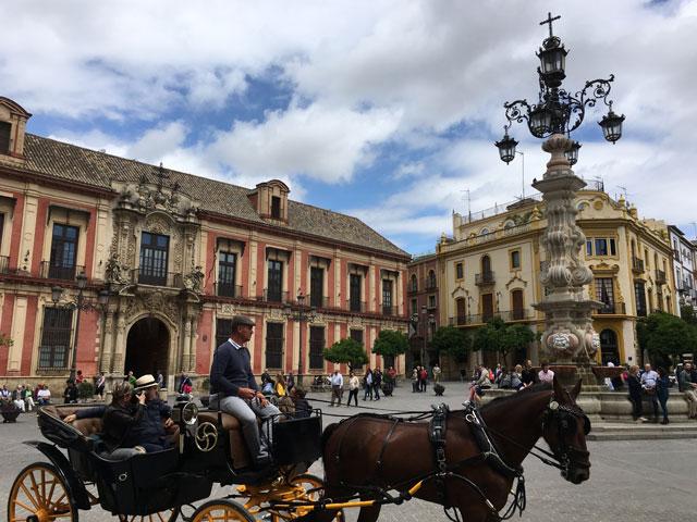 Paysage de colonie de vacances cet été pour ados en Espagne