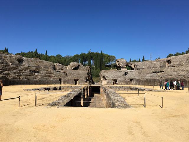 Paysage de colonie de vacances en Espagne pour ados