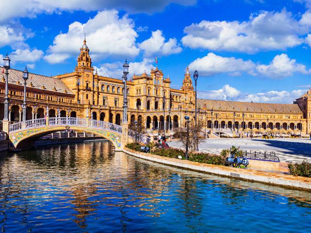 Paysage d'Espagne cet été en colonie de vacances pour ados