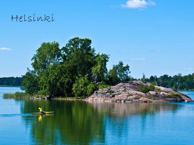 paysage de helsinki en colonie de vacances cet été