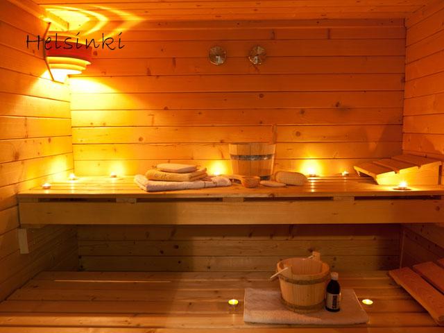 Sauna en colonie de vacances à Helsinki cet été