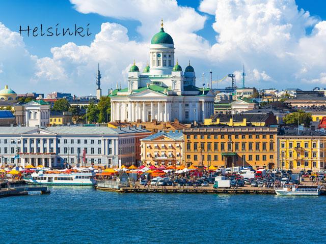 Helsinki en colonie de vacances cet été