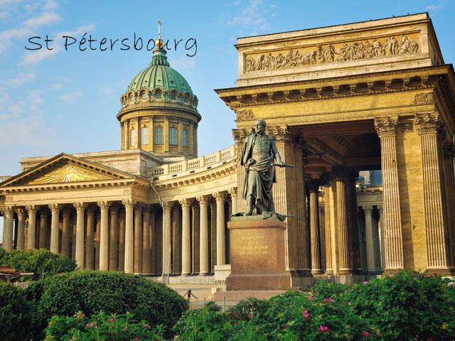 monuments vus en colo à st petersbourg cet été
