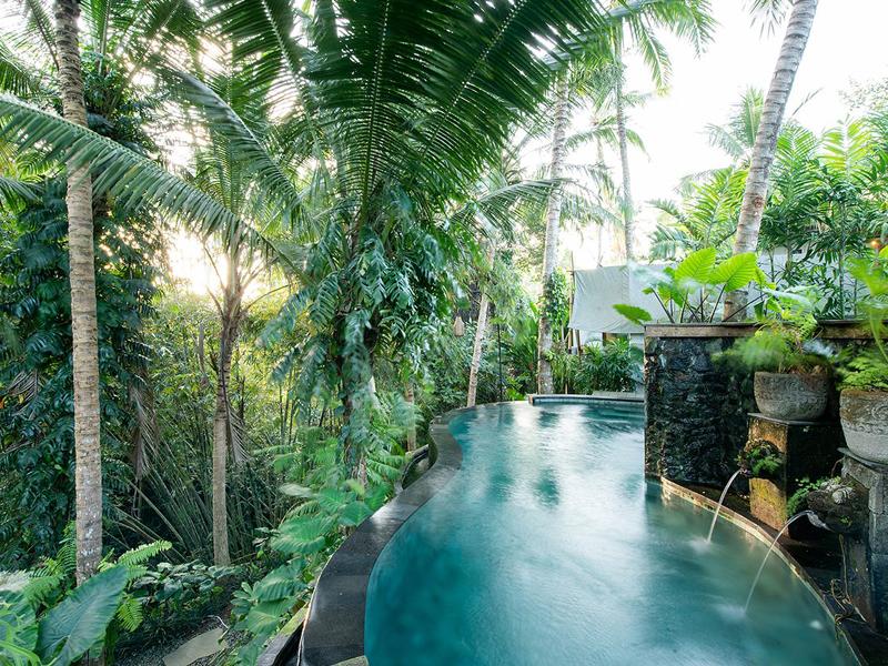 Hébergement de colo à Bali avec piscine pour ados