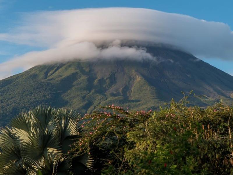 Vue sur le Costa rica visité en colo par les ados