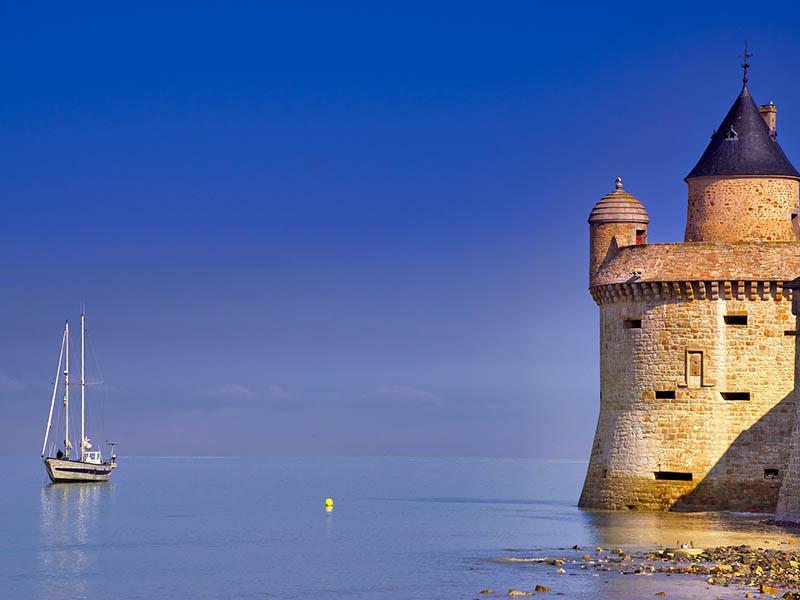Le Mont-Saint-Michel en été