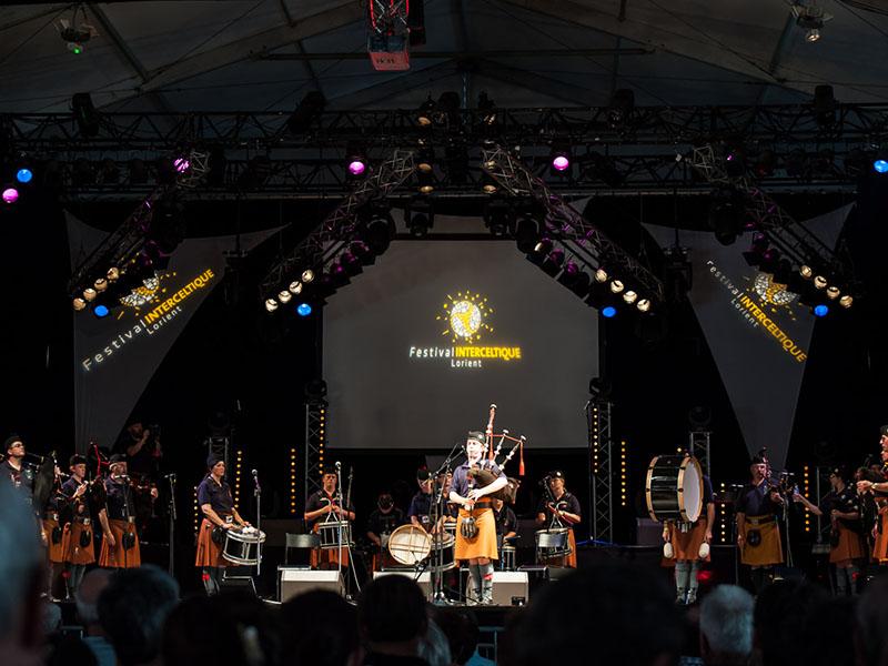 Festival interceltique à Lorient