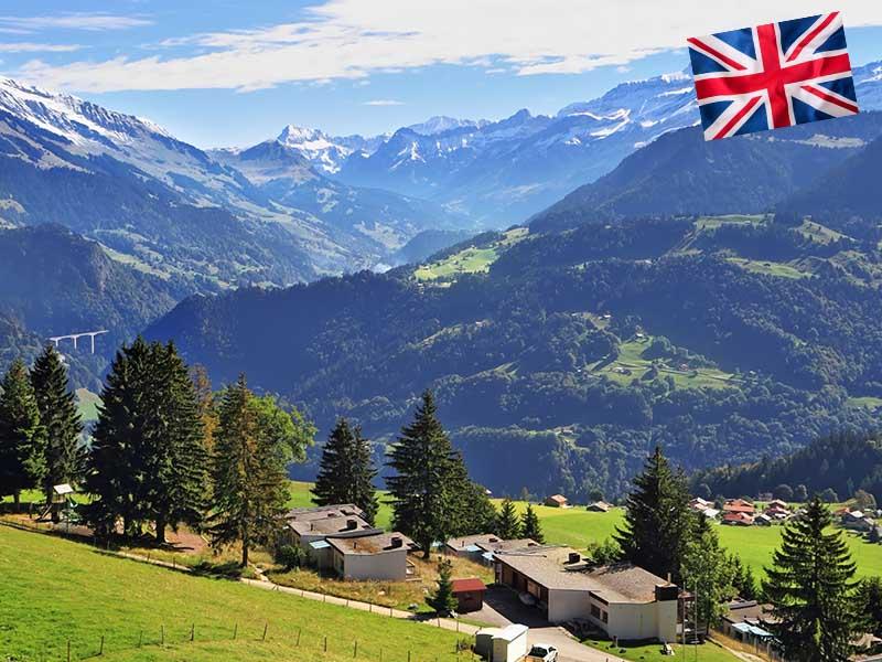 Centre de colonie de vacances en Suisse pour un stage linguistique