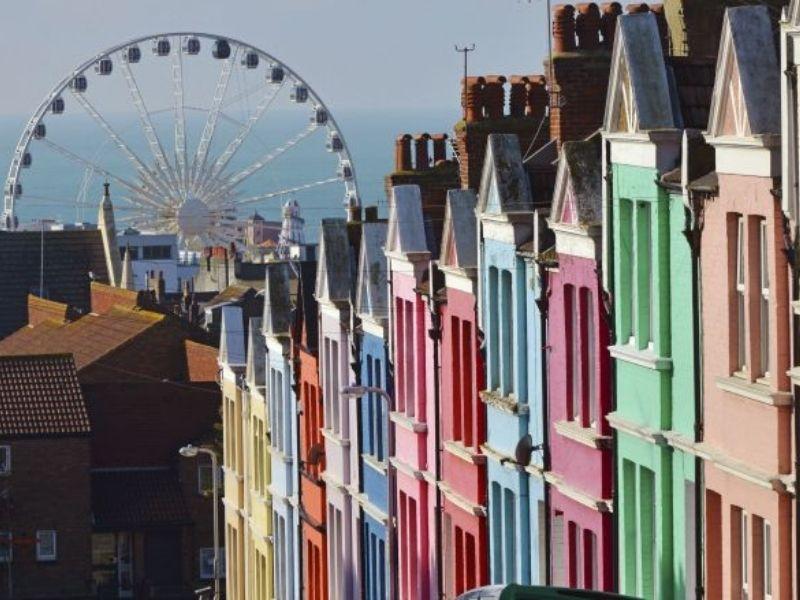 Visites des rues de Brighton en séjour linguistique pour adolescents en Angleterre
