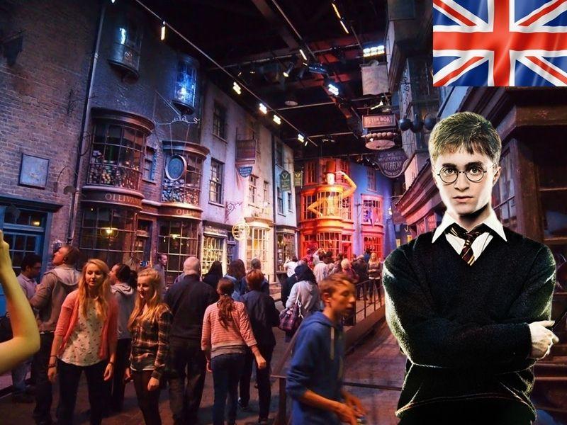 Le Making of d'Harry Potter aux studios Warner Bros à Londres en Angleterre