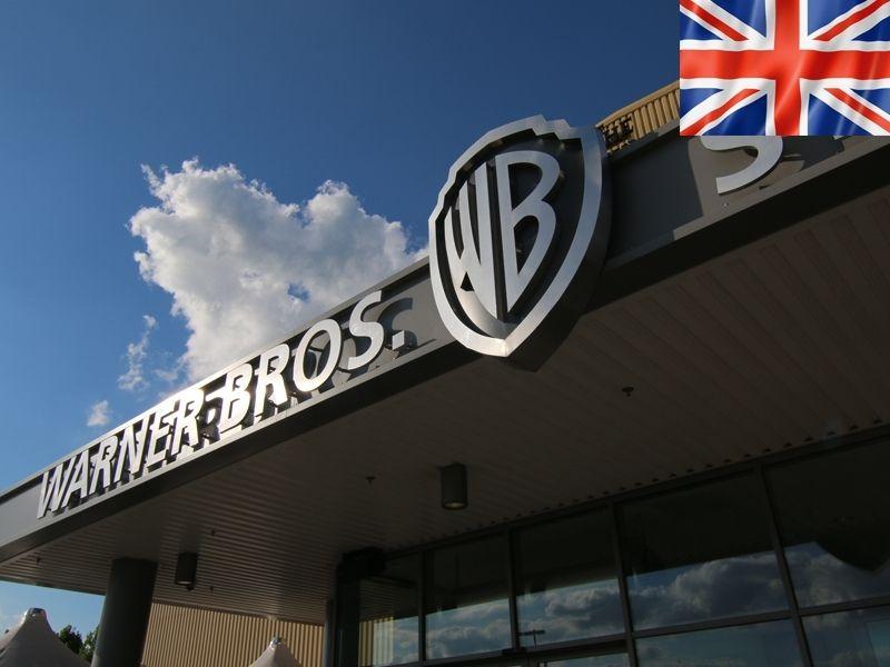 Les studios Warner Bros de Londres en Angleterre