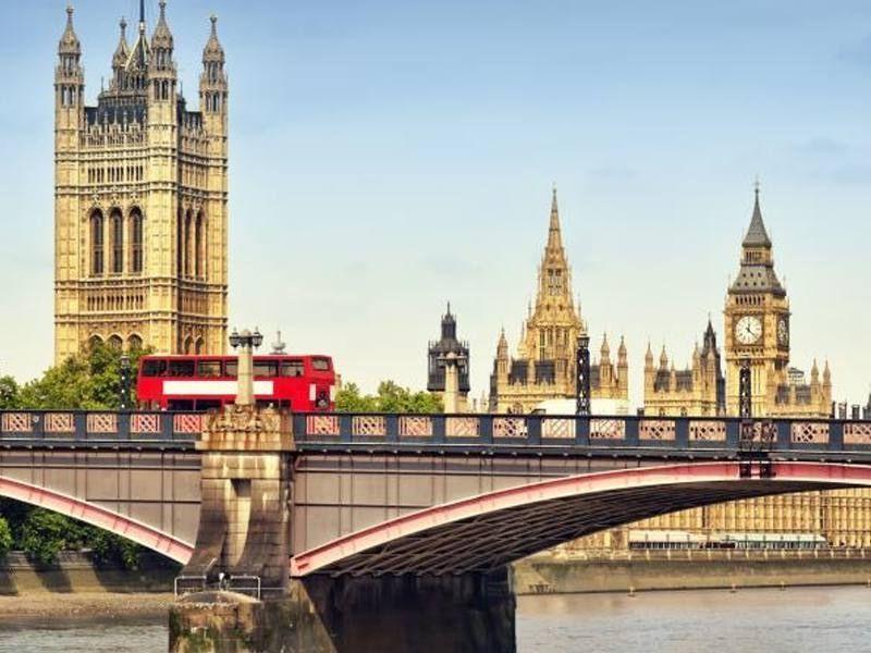 Vue sur le Big Ben de Londres en Angleterre