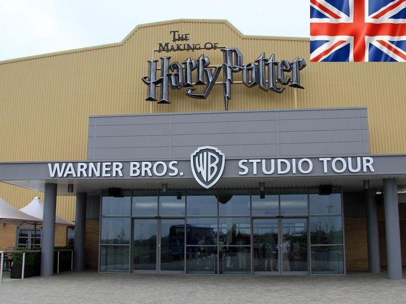 Le making of d'Harry Potter des studios Warner Bros en Angleterre