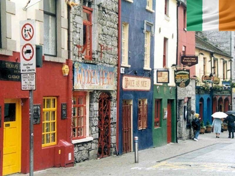 Boutiques de Galway en Irlande