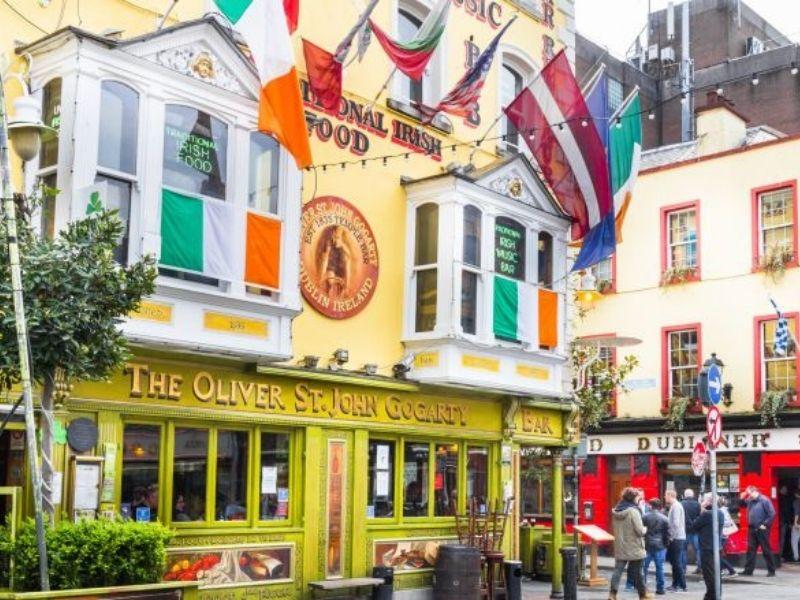 Visites culturelles des PUB d'Irlande en séjour linguistique pour adolescent