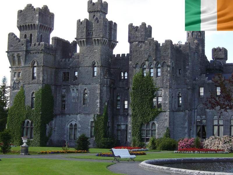 Château d'Ashford en Irlande