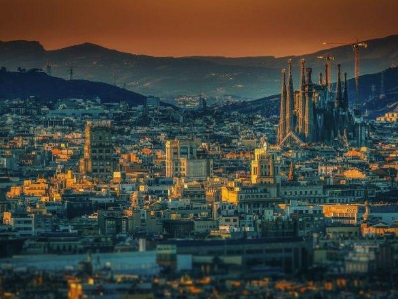 Paysage de Barcelone