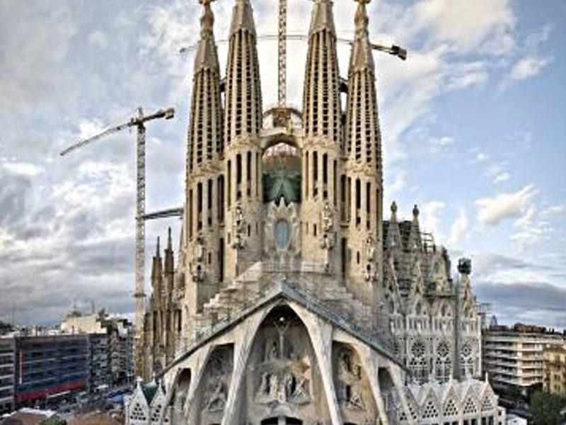 La Sagrada Família à Barcelone en Espagne