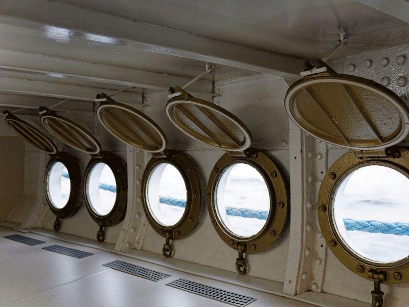 Intérieur d'un bateau en Ecosse