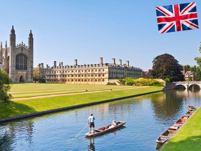 King's College de Londres en Angleterre en été