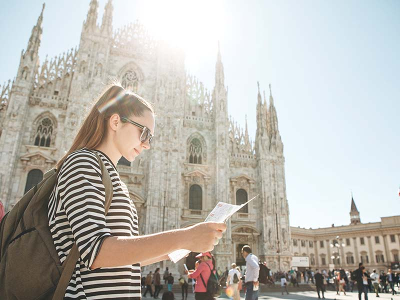 Ado en colonie de vacances en Italie cet été