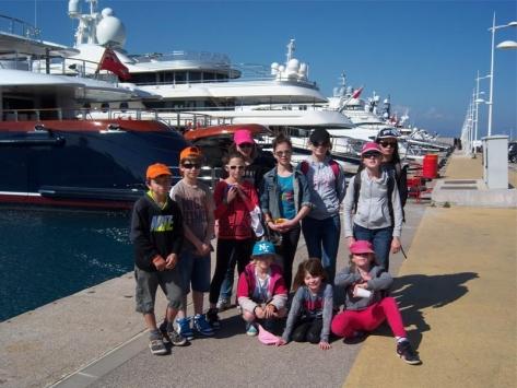 Visiter les ports en colonie de vacances