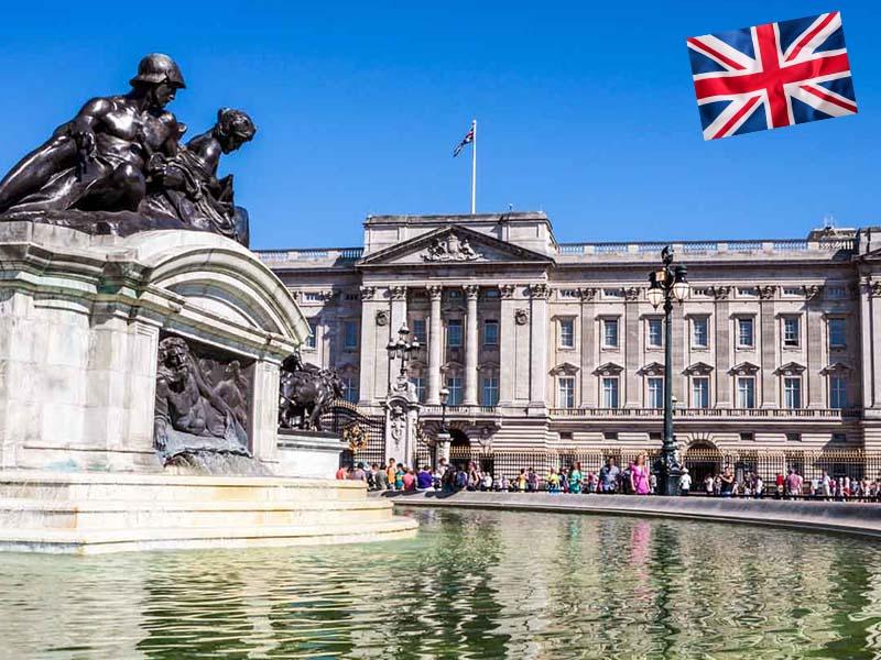 Palais de Buckingham Palace à Londres en Angleterre