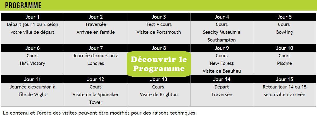 programme activité séjour linguistique - Djuringa Juniors