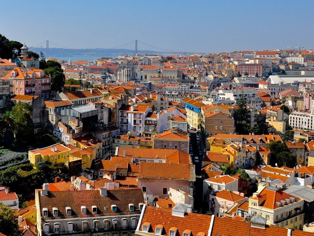 vue sur le portugal en colonie de vacances