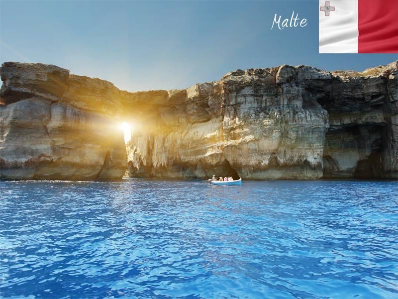 Paysages de Malte en colonie de vacances