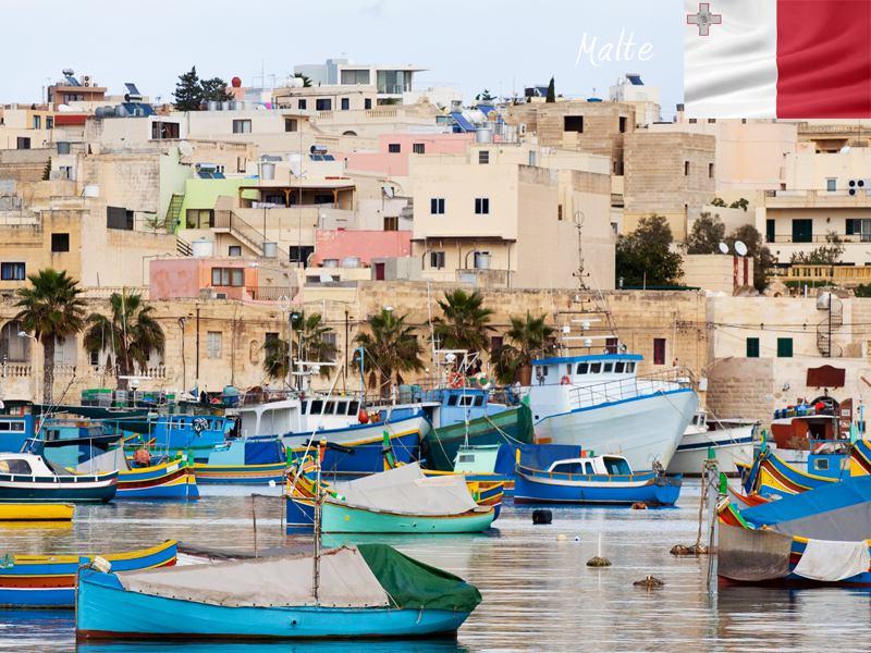 Vue sur les paysages de Malte en colonie de vacances