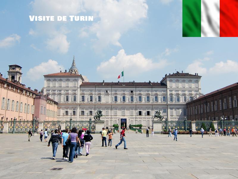 Vue sur la ville de Turin
