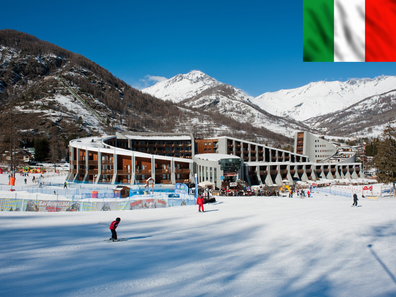 Piste de ski à Bardonecchia