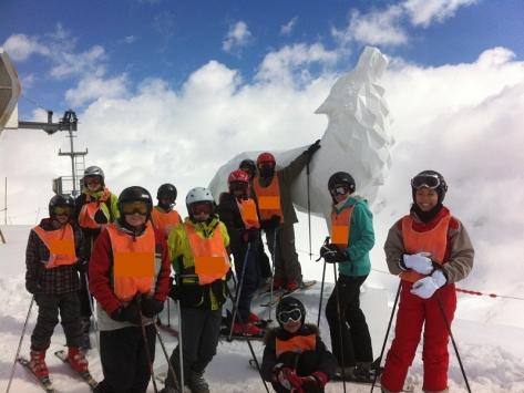 Colonie ski Février