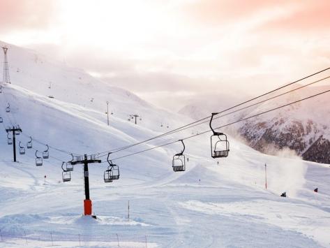 Colonie de vacances au ski adolescents