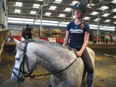 Colonie de vacances équitation ados