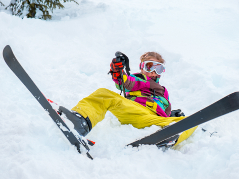 Première colonie de vacances au ski