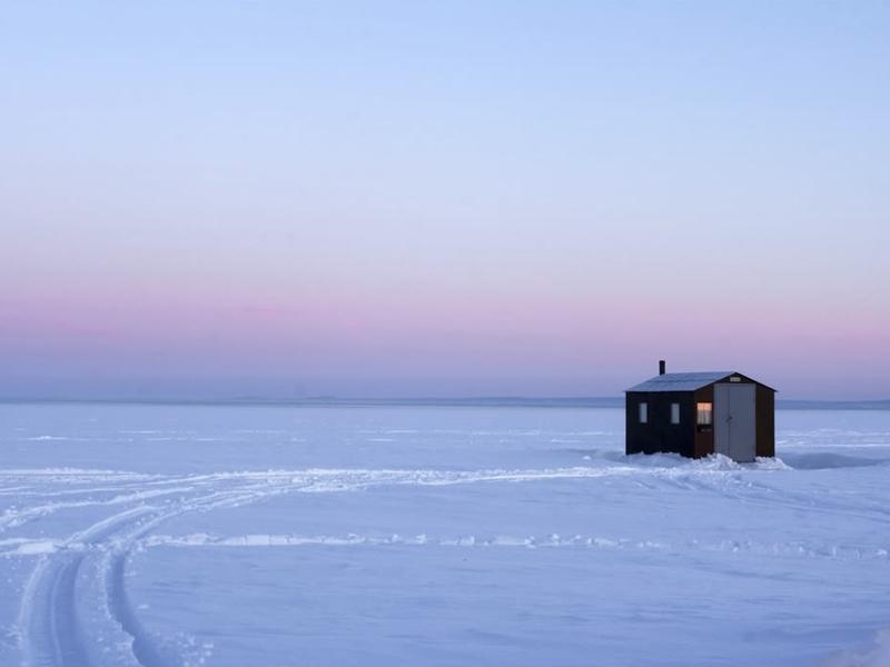 Maison isolée au Canada