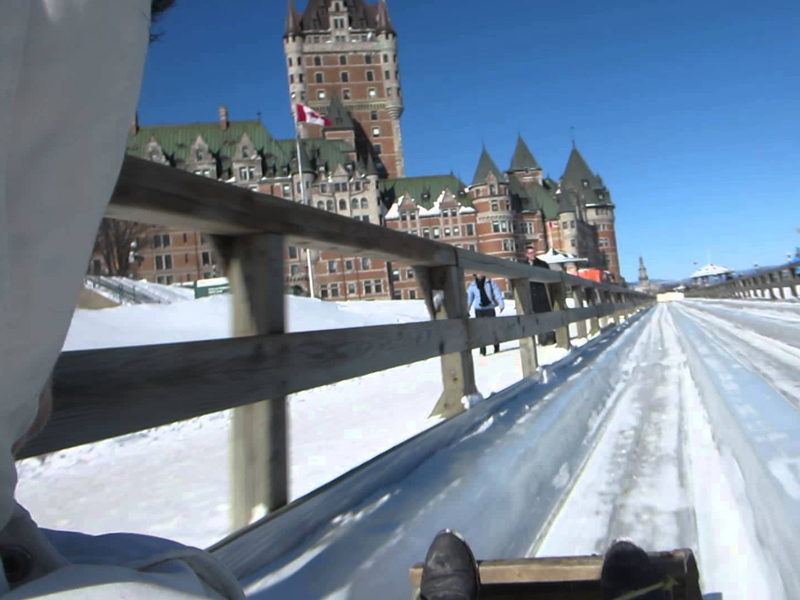 Descente de Dufferin à Québec en colonie de vacances