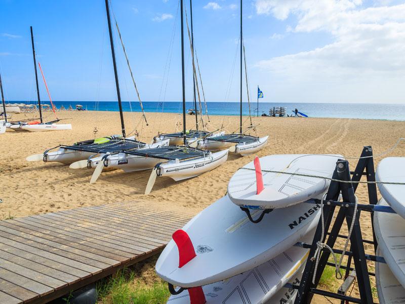 Plage de Fuerteventura en colonie de vacances ados