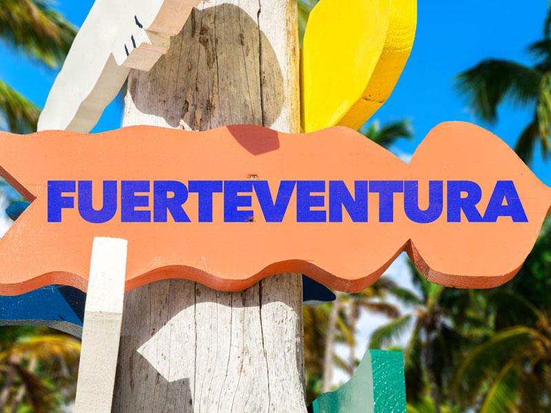 Visiter Fuerteventura en colonie de vacances l'hiver