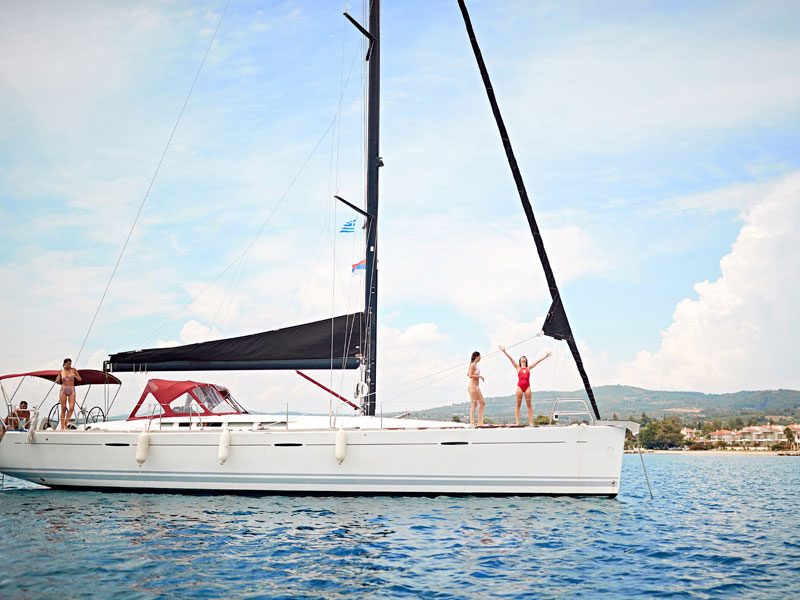 Balade de bateau à Fuerteventura en colonie de vacances