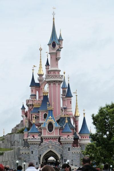 Chateau de Disneyland Paris en colonie de vacances
