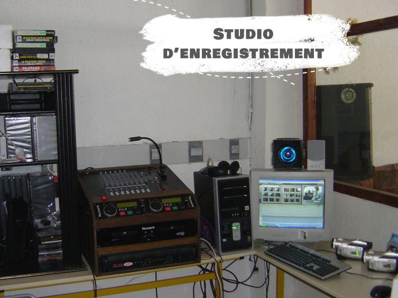 Studio d'enregistrement de Courchevel