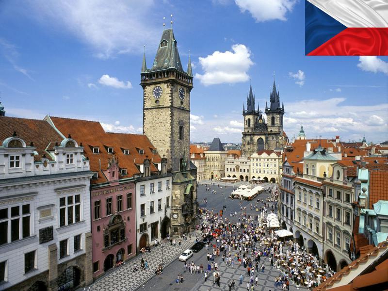 Paysage de la ville de Prague