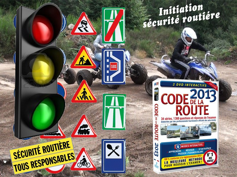 Apprendre le code de la route en colonie de vacances